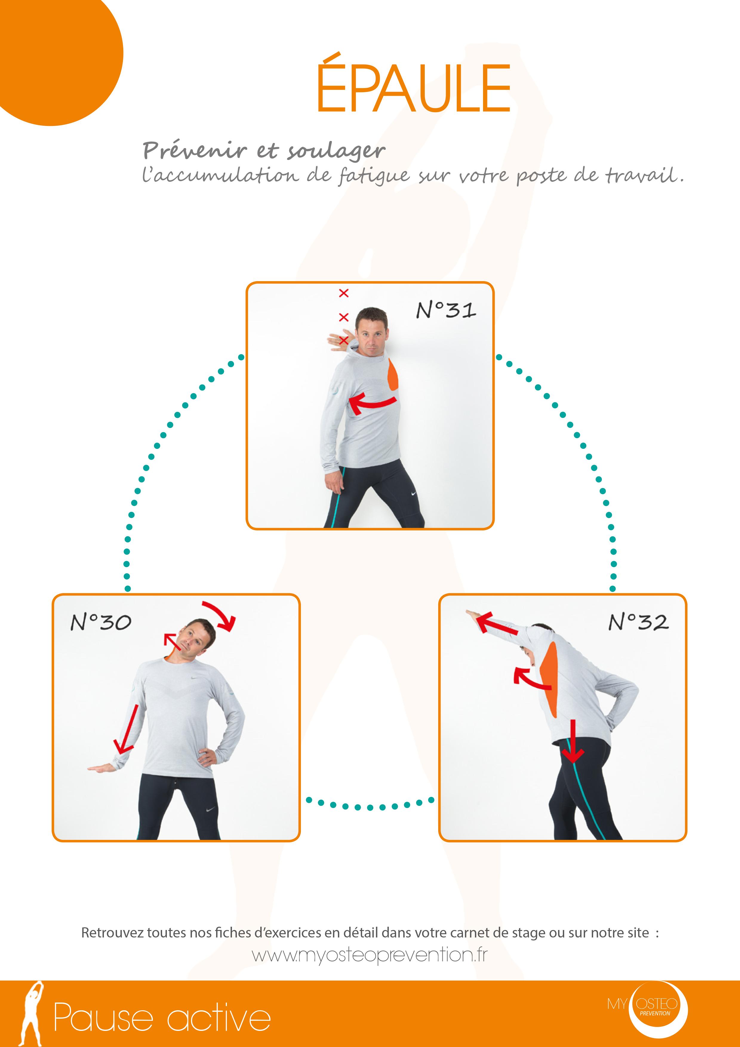 3-Pause Active Épaule