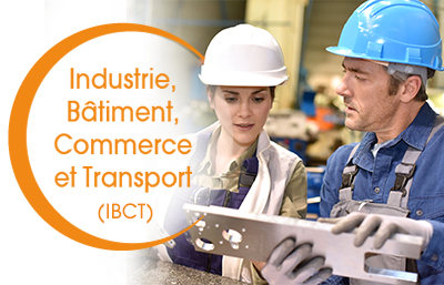 industrie batiment commerce et transport